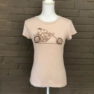 Peanuts   Snoopy on a Chopper T size S